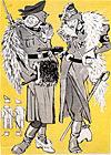 Дамские моды в Германии. Зимний сезон  1941-1942 гг