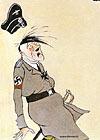 Гитлер и смерть:  осмелюсь доложить - линия фронта выправлена