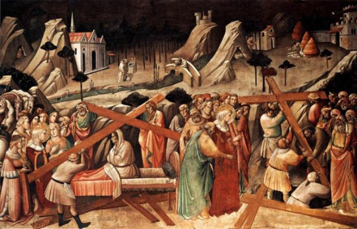 Чудо зцілення Хрестом Господнім