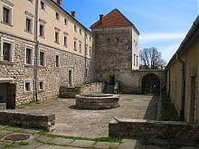 Господарський двір Свірзького замку Львівщини