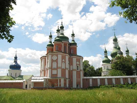Густинський монастир. Сучасний вигляд