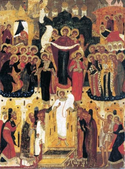 Ікона Покрова XVII ст.