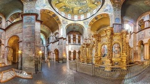 Внутрішнє оздоблення Софії Київської