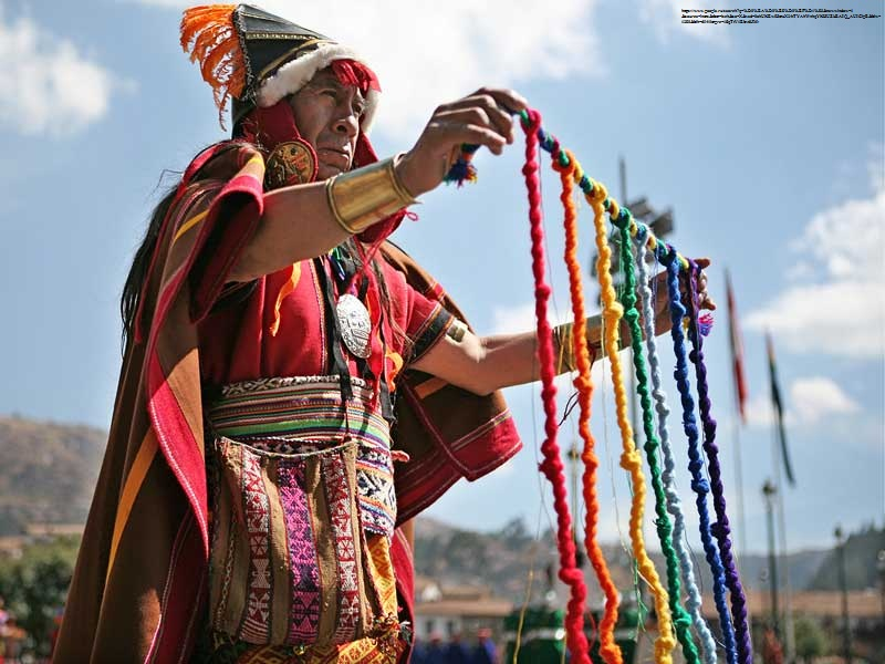 Кіпу – вузликове письмо інків
