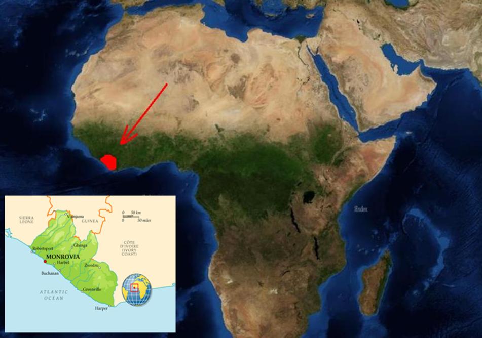 Ліберія – «земля свободи»