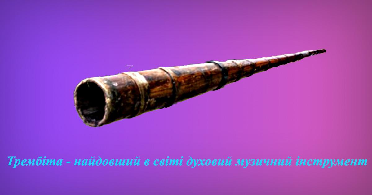 Найдовший у світі духовий інструмент